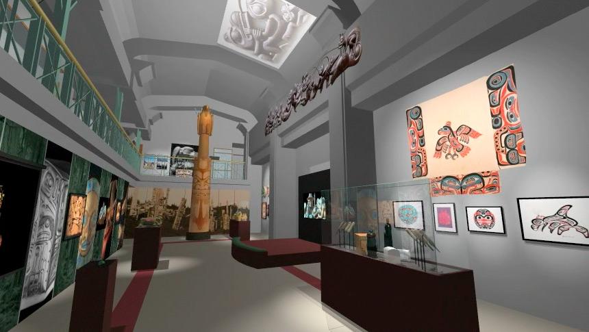 Interior wall design - Rhidian Art Amp Animation